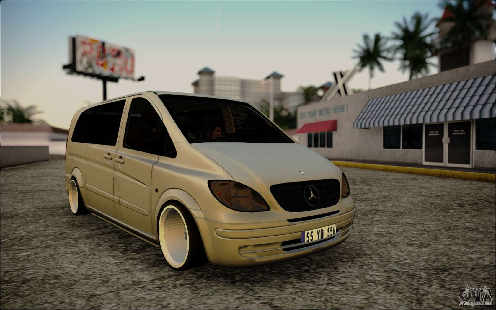 mercedes benz vito for gta san andreas. Black Bedroom Furniture Sets. Home Design Ideas