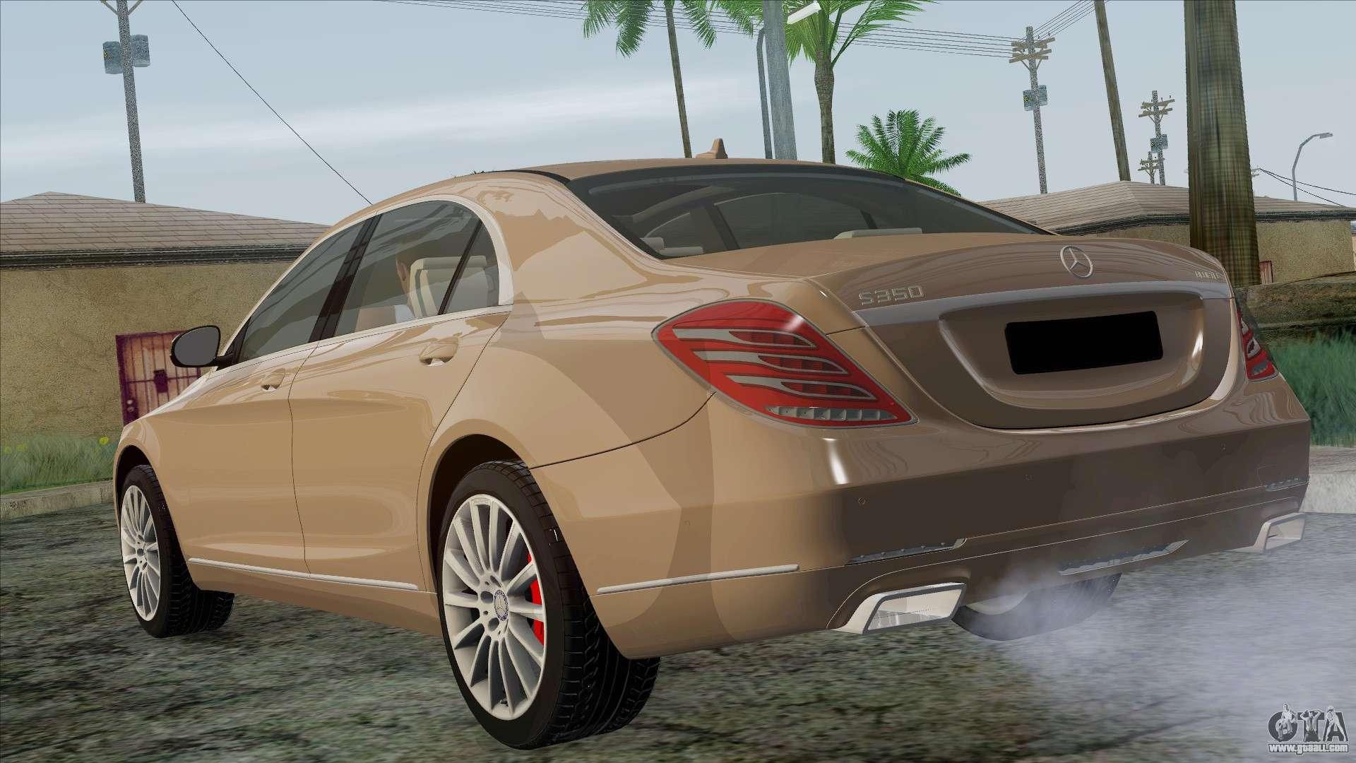 Mercedes benz s350 w222 2014 for gta san andreas for Mercedes benz s350 2014
