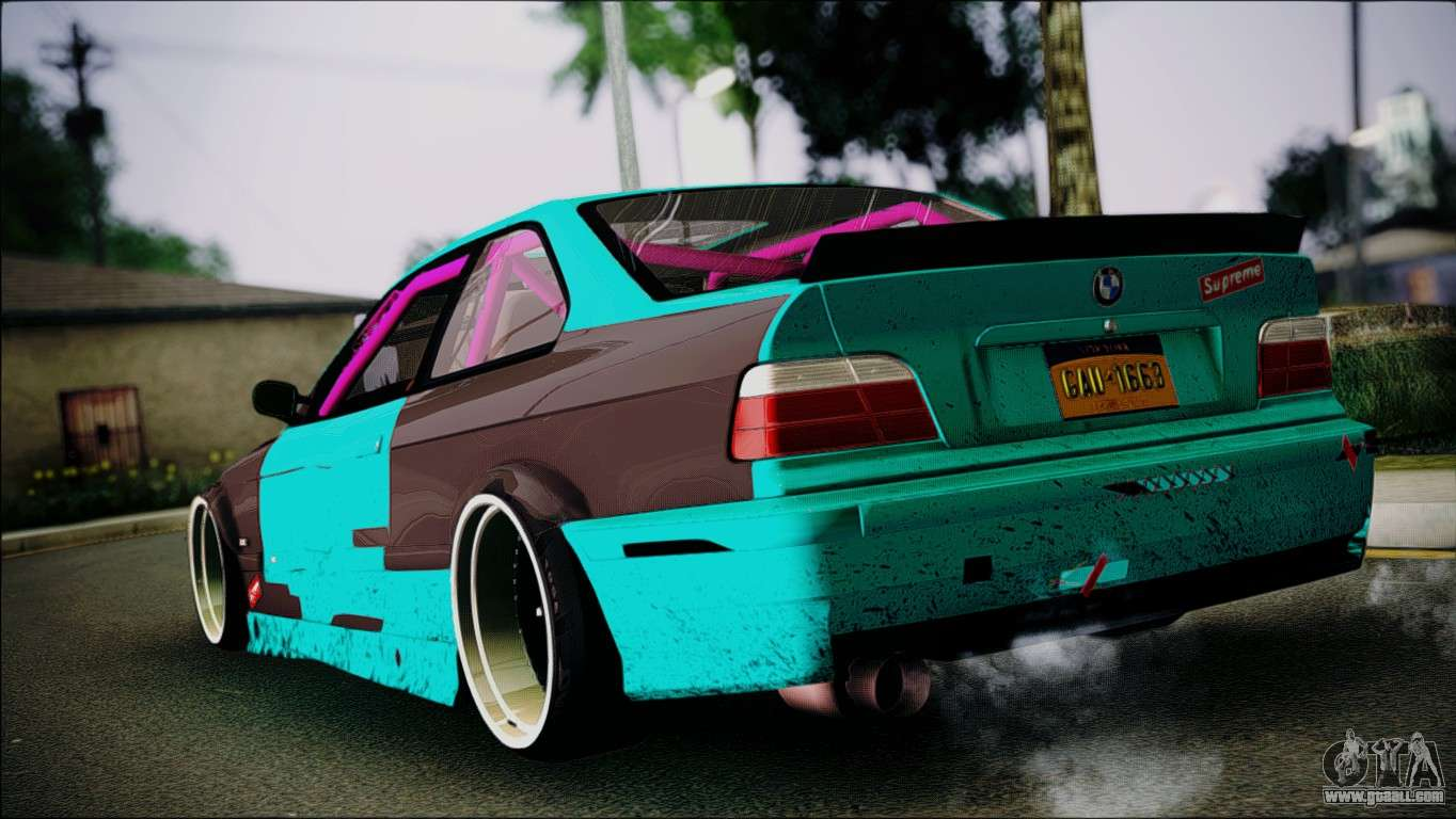 bmw m3 e36 for gta san andreas left view. Black Bedroom Furniture Sets. Home Design Ideas