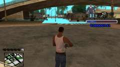 FBI C-HUD for GTA San Andreas