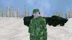 The airborne radio operator for GTA San Andreas