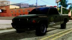 Dodge Dakota National Guard Base Police for GTA San Andreas