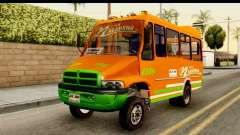 Dodge Ram Microbus for GTA San Andreas