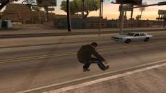 Animations from GTA 4 for GTA San Andreas