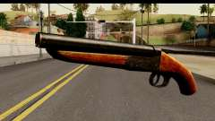 Sawnoff Shotgun HD for GTA San Andreas