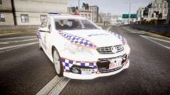 Holden VF Commodore SS Queensland Police [ELS] for GTA 4