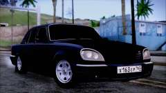 GAZ 31105 Black for GTA San Andreas