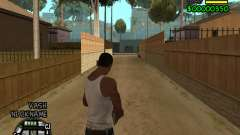C-HUD by Tawerhudov for GTA San Andreas