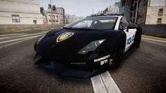 Lamborghini Gallardo LP570-4 LCPD [ELS] for GTA 4