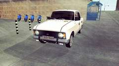 Moskvich 412 White Swallow