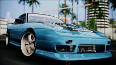 Nissan 180SX coupe for GTA San Andreas