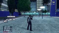 C-HUD GTA 4 with Map