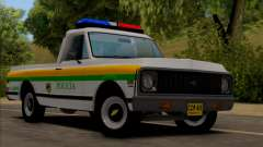 Chevrolet C10 1972 Policia for GTA San Andreas
