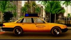 GTA 4 Vapid Stanier Downtown Cab