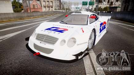 Mercedes-Benz CLK LM 1998 PJ1 for GTA 4