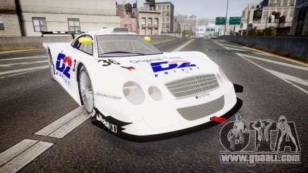 Mercedes-Benz CLK LM 1998 PJ36 for GTA 4