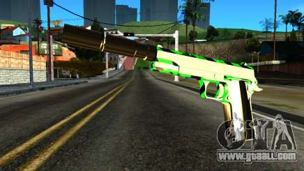 New Silenced Pistol for GTA San Andreas