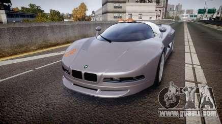 BMW Italdesign Nazca C2 v5.1 for GTA 4