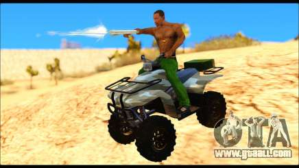 ATV Army Edition v.3 for GTA San Andreas