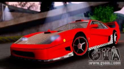 Turismo Pro X for GTA San Andreas