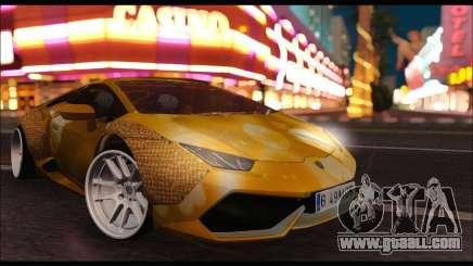 Lamborghini Huracan LB Solar for GTA San Andreas
