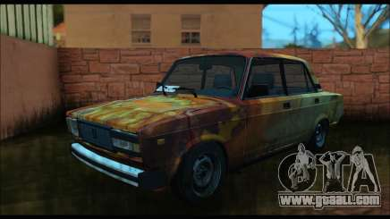 VAZ 2107 Rusty for GTA San Andreas