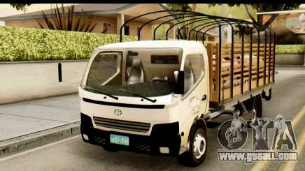 Toyota Dyna Truck Hog Dealer for GTA San Andreas