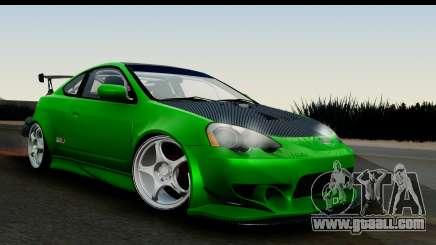 Honda Integra Type R Time Attack IVF for GTA San Andreas