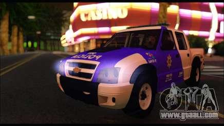 Chevrolet S-10 Policia de Santa Fe for GTA San Andreas