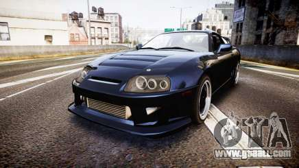 Toyota Supra Tuned for GTA 4