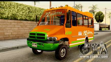 Dodge Ram Microbus for GTA San Andreas