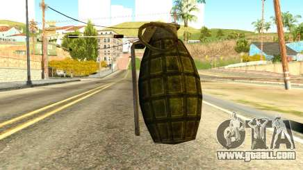 Grenade from Global Ops: Commando Libya for GTA San Andreas