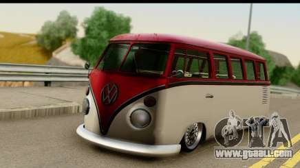 Volkswagen Transporter T1 Stance for GTA San Andreas