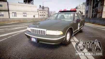 Chevrolet Caprice 1993 Detroit Police for GTA 4