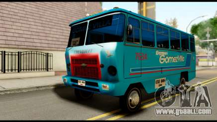 Chevrolet Bus for GTA San Andreas