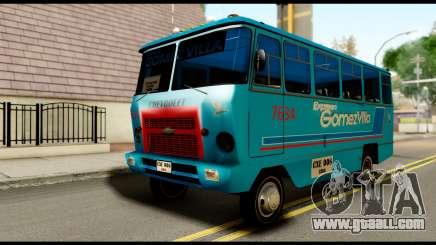 Chevrolet Bus for GTA San Andreas