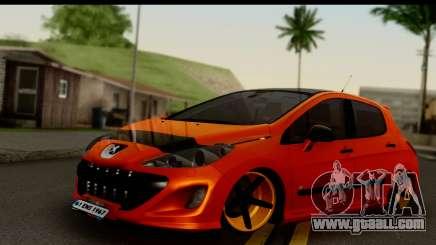 Peugeot 308 ENS Tuning for GTA San Andreas