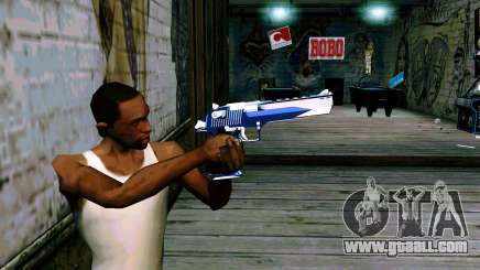 Blue Dragon Deagle for GTA San Andreas