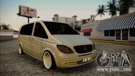 Mercedes-Benz Vito for GTA San Andreas