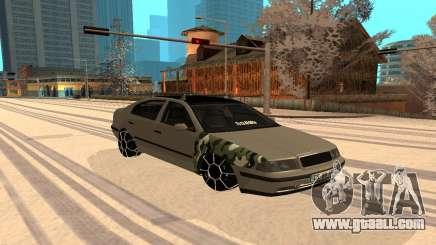 Skoda Octavia Winter Mode for GTA San Andreas