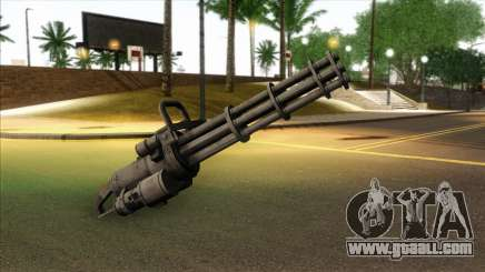 Minigun from GTA 5 for GTA San Andreas