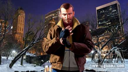 Winter boot screens for GTA 4