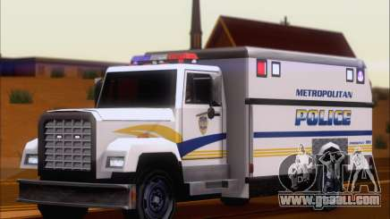 Enforcer Metropolitan Police for GTA San Andreas