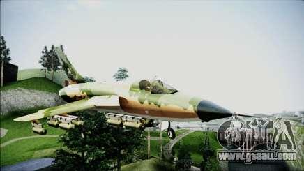 F-105 Thunderchief Polish Glider for GTA San Andreas