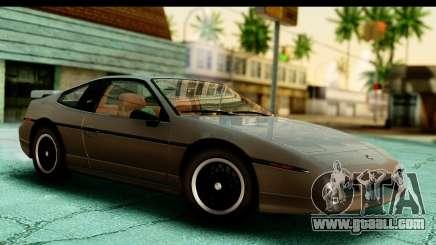 Pontiac Fiero GT G97 1985 HQLM for GTA San Andreas