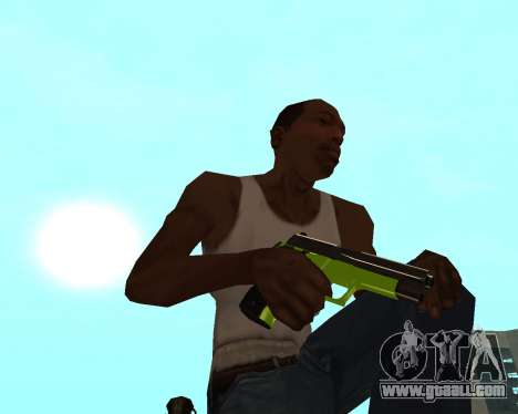 Sharks Weapon Pack for GTA San Andreas seventh screenshot