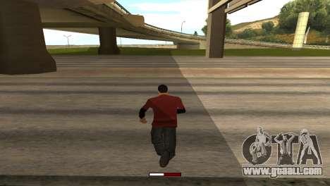 SprintBar for GTA San Andreas second screenshot