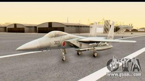 F-15DJ Mitsubishi Heavy Industries for GTA San Andreas