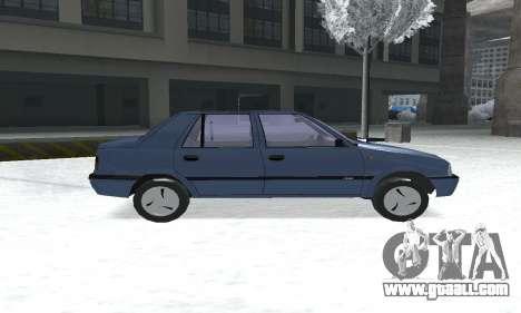 Dacia Super Nova for GTA San Andreas back left view