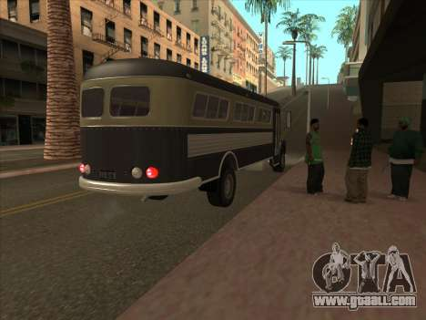 Bus из GTA 3 for GTA San Andreas side view